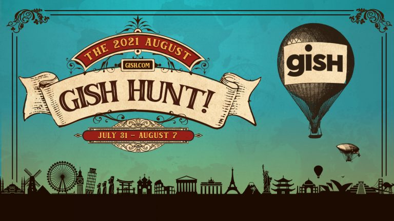 Join the 2021 August GISH Hunt!