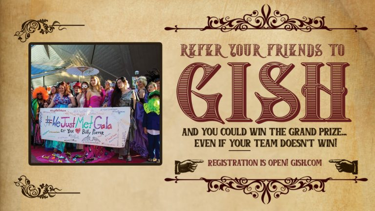 Refer your friends to GISH!